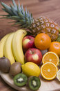 Fruit composition Royalty Free Stock Photo