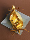 Fruit cooked in wax paper Stock Photography