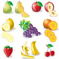 Fruit.eps Photographie stock libre de droits