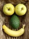 Fruit Face Royalty Free Stock Photo