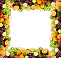 Fruit frame Royalty Free Stock Photos