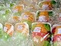 Fresh Fruit on Ice Royalty Free Stock Photo