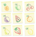 Fruit icon Stock Image