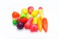 Fruit-imitated coated with jelly Royalty Free Stock Photo