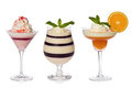 Fruit Jello Parfaits Stock Image