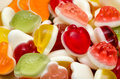 Fruit jelly background close up Stock Photo