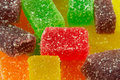Fruit jelly sweets Stock Images
