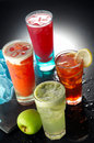 Fruit Juices Royalty Free Stock Photo