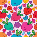 Fruit laying seamless pattern