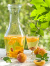 Fruit liqueur Royalty Free Stock Photography