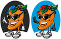 Fruit mango cartoon Stock Photo