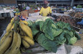 Fruit market, Tobago. Royalty Free Stock Photo