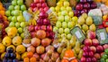 Fruit mix combination stall 3 Royalty Free Stock Photo