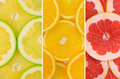 Fruit mix of sweetie fruit orange and grapefruit texture macro Royalty Free Stock Image