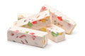 Fruit nougat sticks Royalty Free Stock Photo