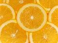 Fruit  oranges  cut Stock Photography