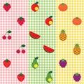 Fruit pattern set