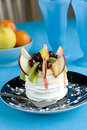 Fruit Pavlova Royalty Free Stock Images