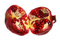 Fruit  of  pomegranate Stock Images