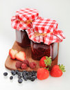Fruit preserves Stock Images