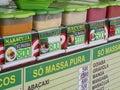 Fruit pulp for sale ver o peso market belem amazon brazil Royalty Free Stock Image