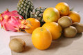 Fruit put together a variety of fruits。 Stock Image
