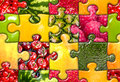 Fruit Puzzle Seamless Royalty Free Stock Photo