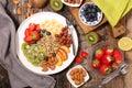 Fruit and quinoa