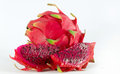 Fruit rouge de dragon Image libre de droits
