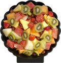 Fruit Salad Platter Stock Photo