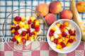 Fruit salads Royalty Free Stock Photo