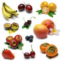 Fruit Sampler 1 Royalty Free Stock Photos