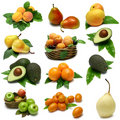 Fruit Sampler Stock Photos