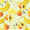 Fruit seamless Royalty Free Stock Photos