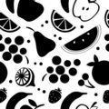 Fruit seamless pattern Stock Image
