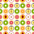 Fruit seamless vector pattern.