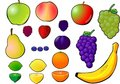 Fruit selection. Royalty Free Stock Photos