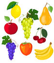 Fruit set. Royalty Free Stock Photo