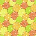 fruit slices background