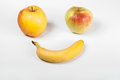 Fruit smiley Royalty Free Stock Photo