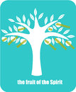 Fruit of the spirit fruits according to epistle to galatians Stock Images
