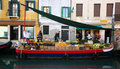 Fruit stall in Venice Royalty Free Stock Photo