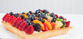 Fruit Tart - Close up Royalty Free Stock Photo