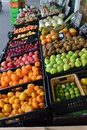 Fruit and veg galore going cheap to Stock Image
