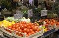 Fruit and veg market Royalty Free Stock Photo