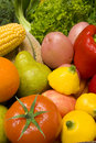 Fruit Vegetables Food Royalty Free Stock Photo