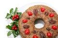 Fruitcake Ring Royalty Free Stock Photo