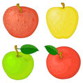 Fruits, apples Royalty Free Stock Image