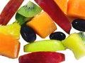 Fruits Cascade Royalty Free Stock Photo