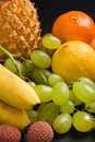 Fruits closeup Royalty Free Stock Image